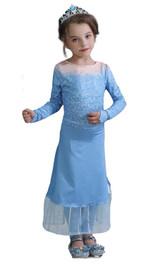 Costume Elsa Robe Sous-marine pour Filles