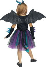 Costume Dragon Noir pour Filles