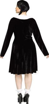 Costume Femme Gothique de Mercredi Taille Plus
