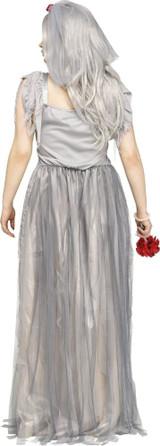 Le Costume de Mariée Zombie pour Femmes Taille Plus