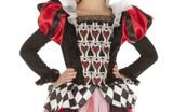 Costume Reine de Coeur pour Filles
