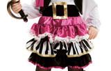 Costume de Petite Pirate pour Filles