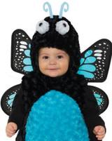 Costume Papillon Bleu pour Fillettes