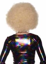 Perruque Afro Blonde Géante