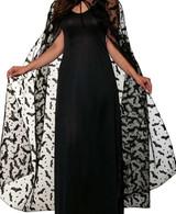 Costume Cape de Chauve-Souris pour Femmes
