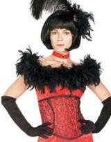 Costume Dame de Saloon Rouge Sexy pour Femme