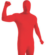 Costume Rouge Seconde Peau pour Adultes