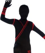 Costume Skin Suit Ninja Noir pour Enfant