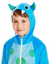 Costume Joyeux Monstre Bleu pour Enfant