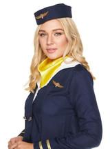 Costume Hôtesse de l'Air Bleu pour Femme