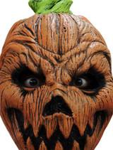 Masque Citrouille d'Halloween Complet en Latex