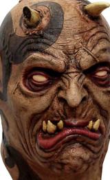 Masque en Latex Complet de Démon Tatoué