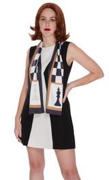 Robe de Reine D'Échecs pour Femme