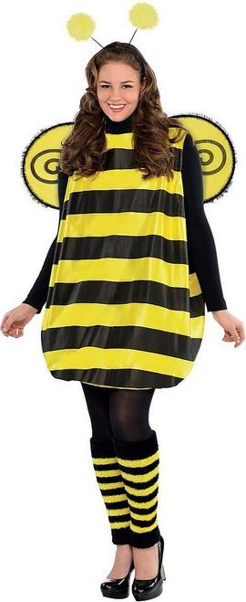 Costume d'Abeille Mignone pour Femme Taille Plus