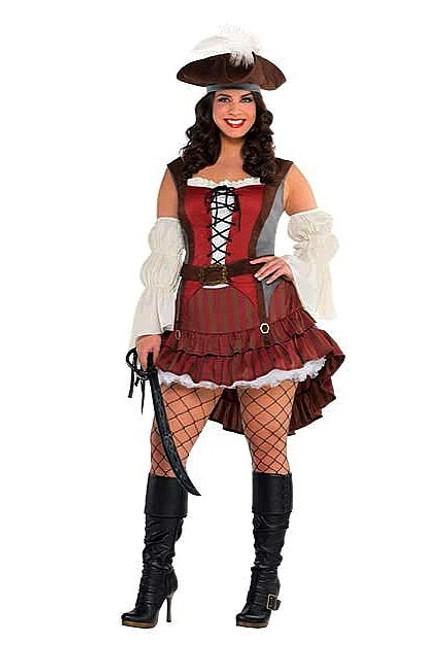 Costume de Pirate pour Femme Taille Plus