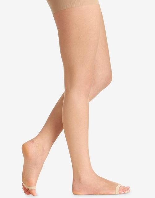 Berkshire Collant Gainant Ultra Transparent Sans Orteils Nude