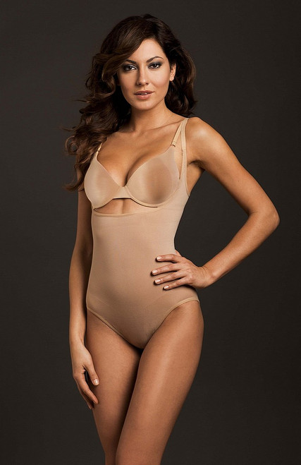 Le Chic lisse taille haute Nude