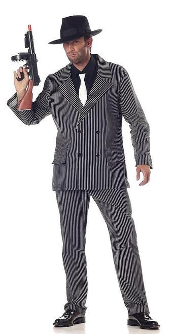 Costume de Gangster Rayé pour Adultes