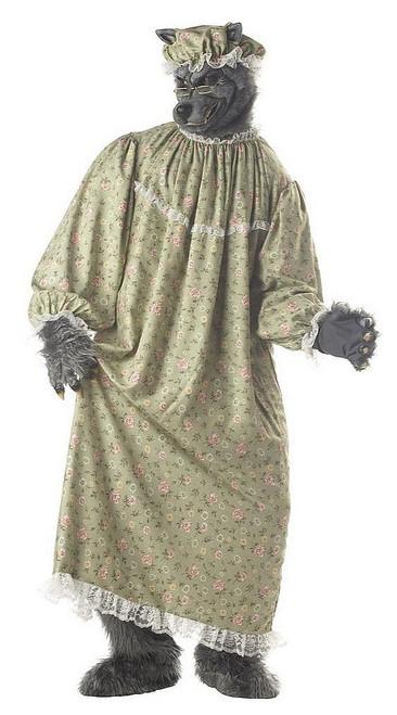 Costume de Loup Grand-Mère