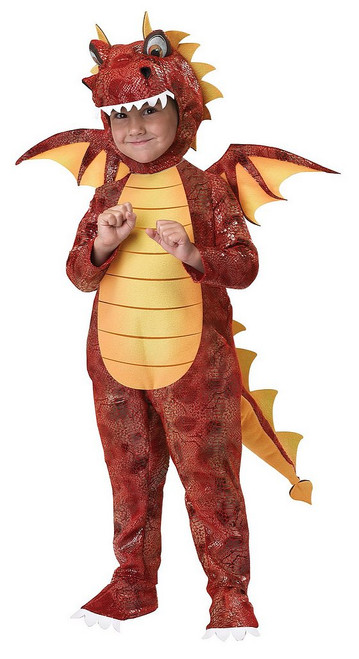 Costume de Dragon Cracheur de Feu