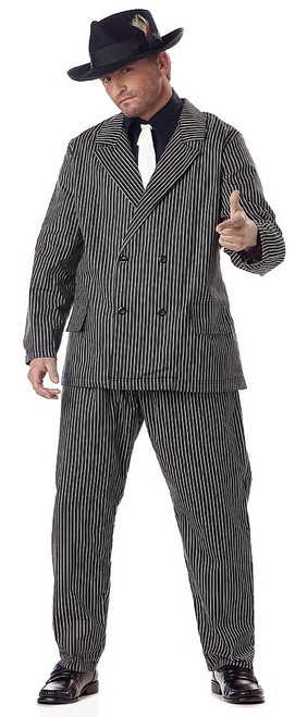 Costume de Gangster Taille plus