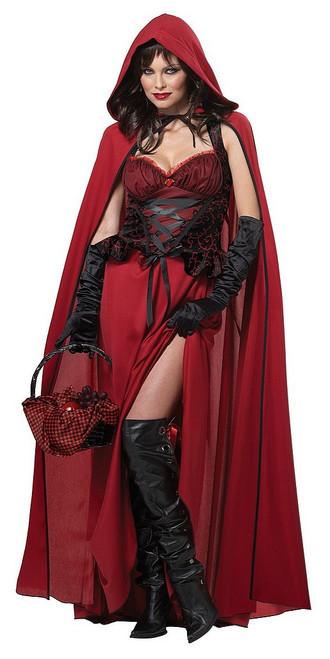 Costume du Chaperon Rouge Sombre