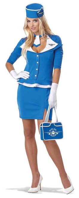 Costume d'Hotesse de l'Air Rétro