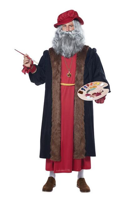 Costume de Leonard De Vinci pour Adulte