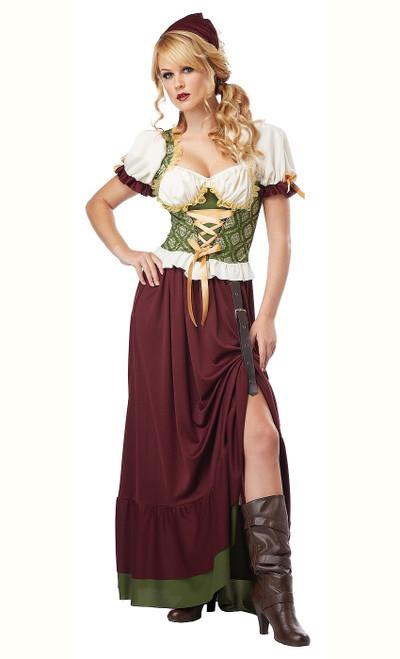 Costume de Jeune Fille de la Renaissance