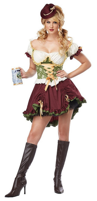 Beer Garden Fille Costume