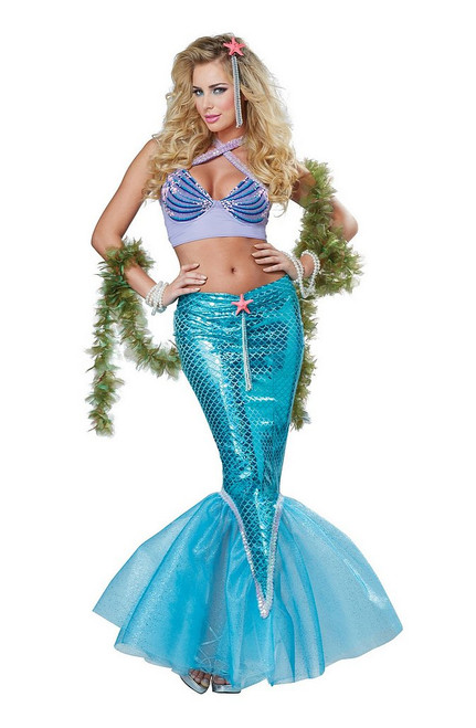 Costume de Sirene Deluxe pour Adulte