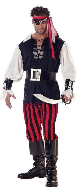 Costume de Pirate Coupeur de Gorge Pour Hommes