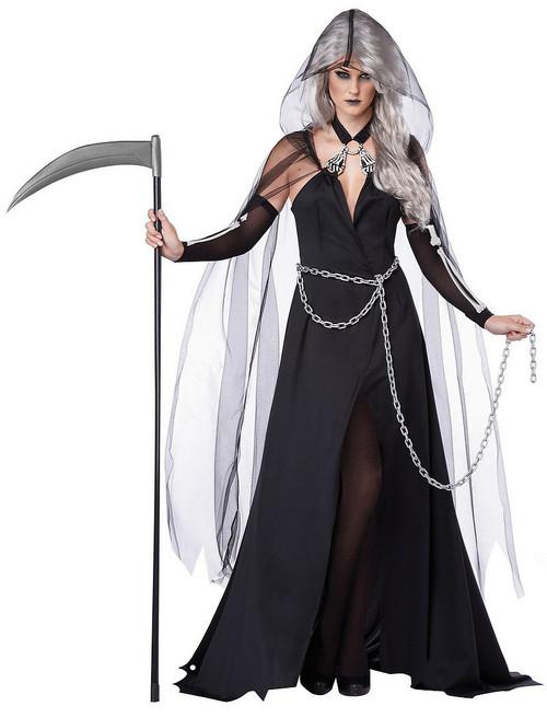 Costume de femme faucheuse