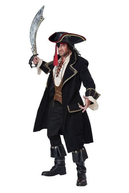 Costume Deluxe du Capitaine des Pirates pour Adulte