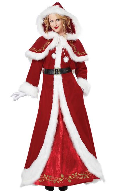 Costume de luxe de Mme Noel pour Adulte