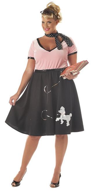 Costume des Amoureux des années 50