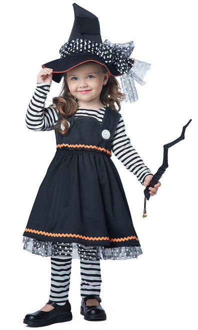 Costume de Sorcière Enfant Brillante