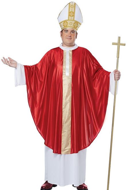 Costume du Pape pour Adulte Taille plus