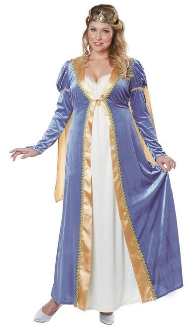 Costume d'Impératrice élégante Taille plus