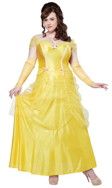 Costume classique de Belle pour femmes Taille plus