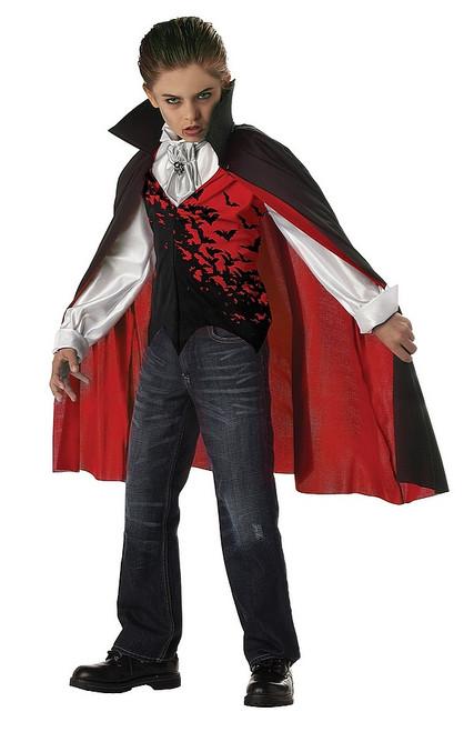 Costume Vampire pour Garcon Sombre