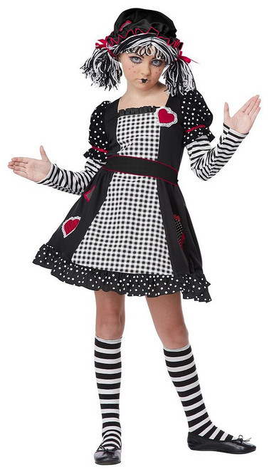 Costume de Poupée de Chiffon