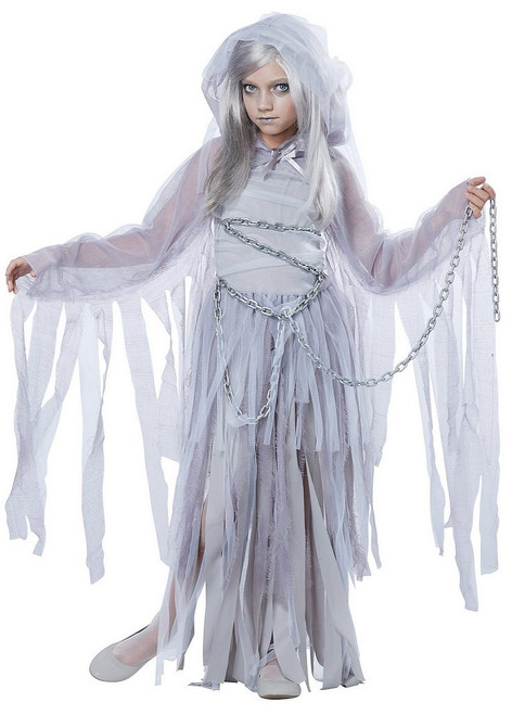 Beauté hantée fantôme fille Costume