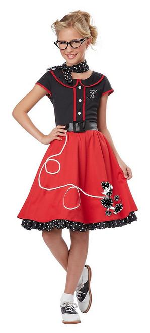 Costume de l'Amoureuse des années 50