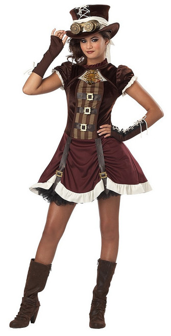 Costume SteamPunk pour fille