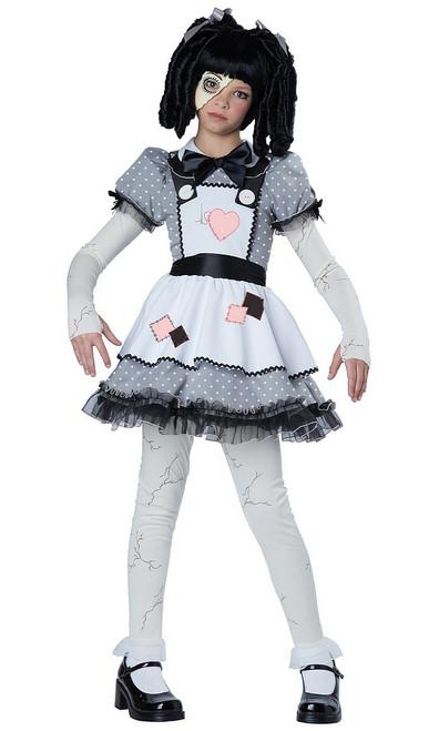 Costume de la Poupée Vivante pour Enfant