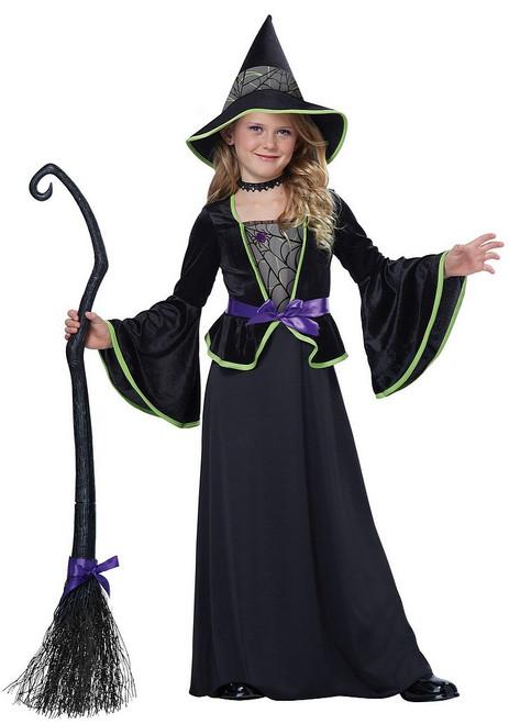 Costume de Sorcière Enfant Classique