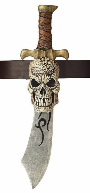 Épée de pirate avec le crâne gaine