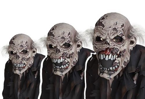 Masque Ani-Motion de Zombie