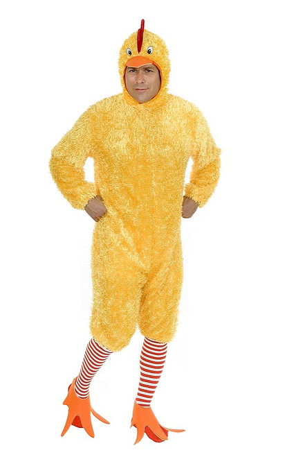 Costume Adulte de Poulet Amusant